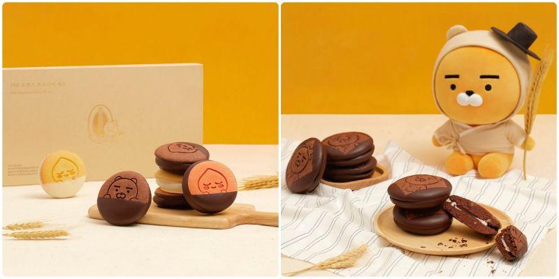 全州名产PNB推出超可爱KAKAO联名巧克力派