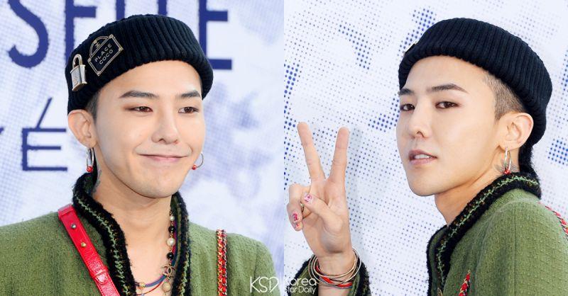 G-Dragon下個月終於要退伍了! 10/26快快到來吧~