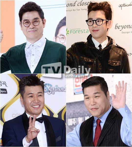 金勇万、金钟旼、徐章勋、P.O合作新节目《奇异食堂》