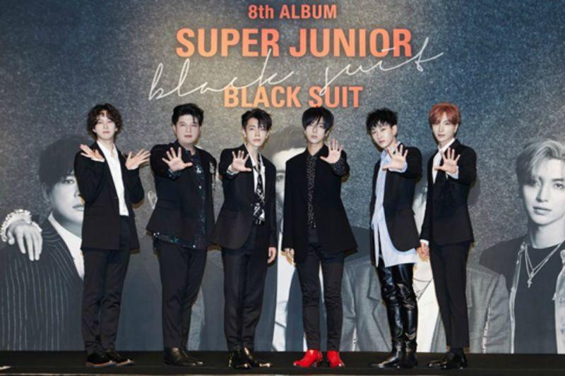 Super Junior兑现专辑销售公约 下周前进电视购物卖Black suit啦!