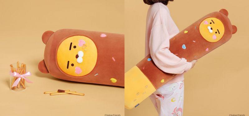 双11特别限定!KAKAO人气RYAN长抱枕变身PEPERO巧克力棒