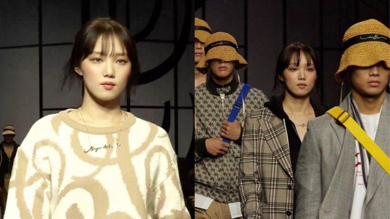睽违三年李麻豆回归!李圣经亮相「首尔时装周」走秀,眼神、姿势果然就是专业的!