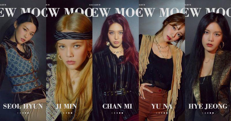 AOA 参与〈New Moon〉三曲创作 最新概念线索曝光!