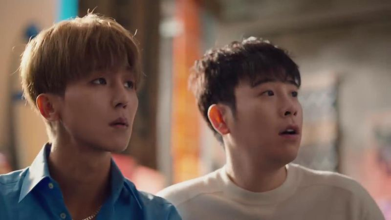 變成順毛的WINNER宋旻浩,和好友Block B P.O第一次一起拍廣告!