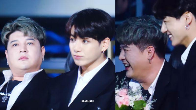 【TMA】Super Junior神童开个小玩笑,令BTS防弹少年团柾国发懵XD