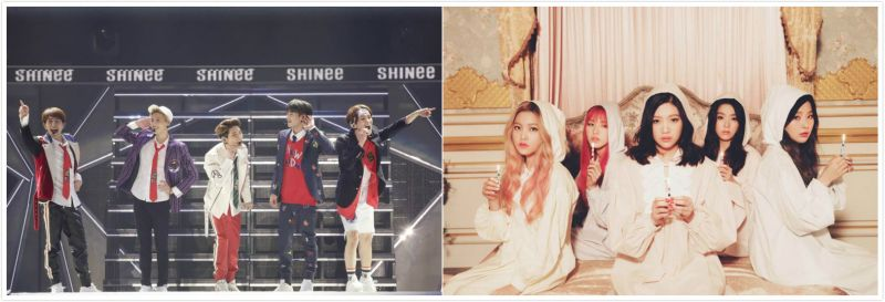 SHINee、Red Velvet新专辑准备中