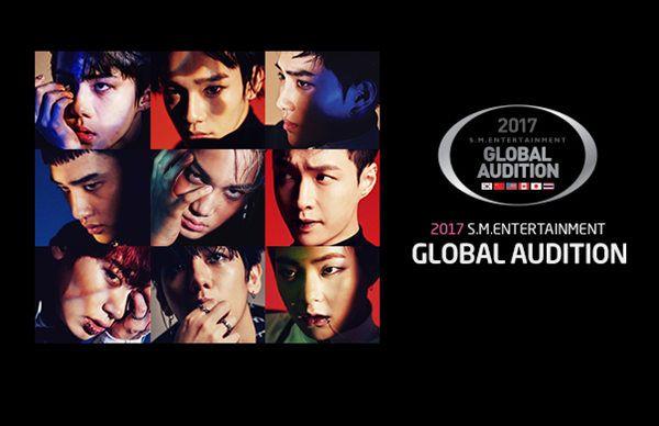 2017年SM娛樂全球選秀開跑 你準備好了沒?