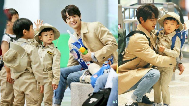 珉豪奶爸又來啦!與高志溶父子、李輝宰父子和大發一起到中國錄製《超人回來了》!
