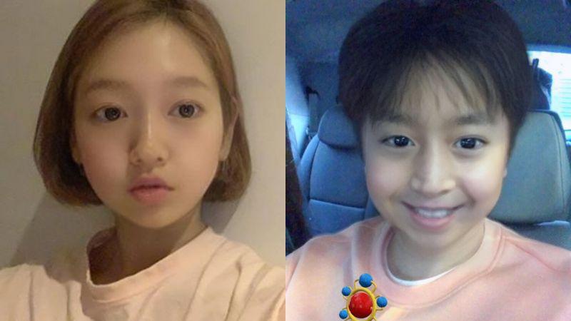 最近韩国艺人都玩起了「Baby滤镜」,用上瞬间减龄爆萌!