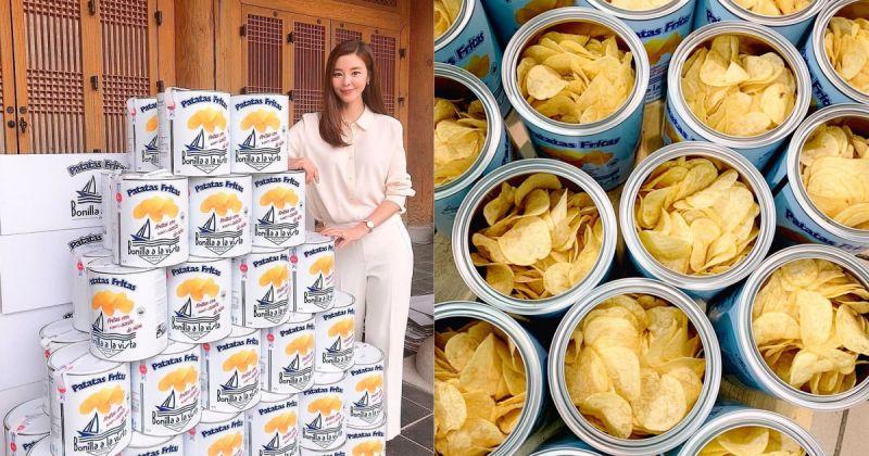 韩妹都爱、IG疯狂洗版,超可爱油漆桶薯片在台上市!!