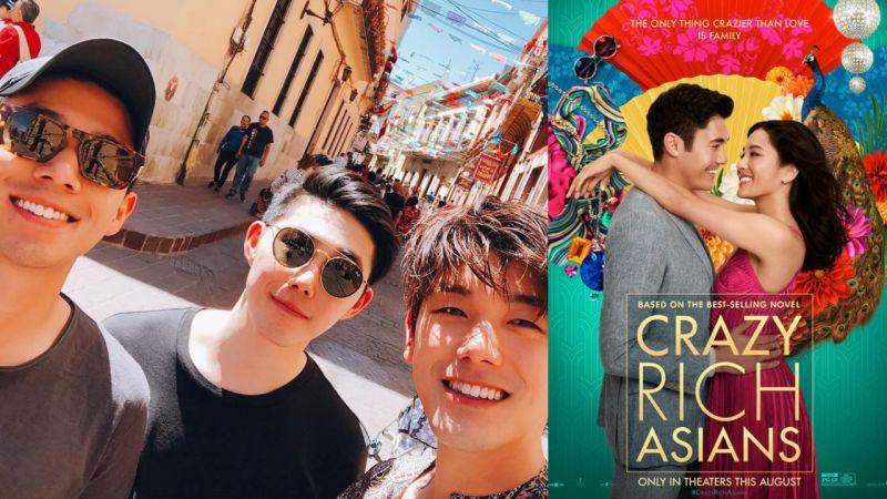 Eric Nam 偕弟弟包場支持新片《瘋狂亞洲富豪》 「厭倦主流媒體的不當詮釋,我們其實有很多面貌」