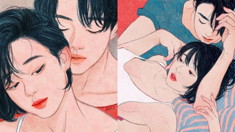 才不只是情欲! 韓國插畫師欣賞:Zipcy的戀人絮語