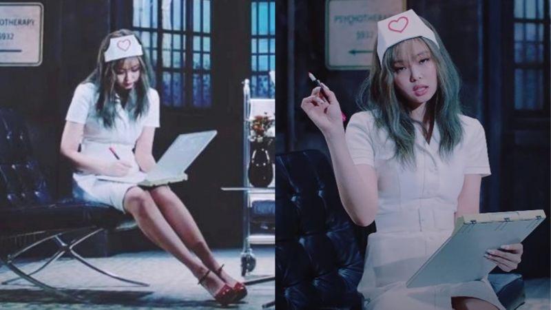 BLACKPINK新曲MV《Lovesick Girls》Jennie护士服造型引发争议!YG:「没有任何意图,正在讨论剪辑」