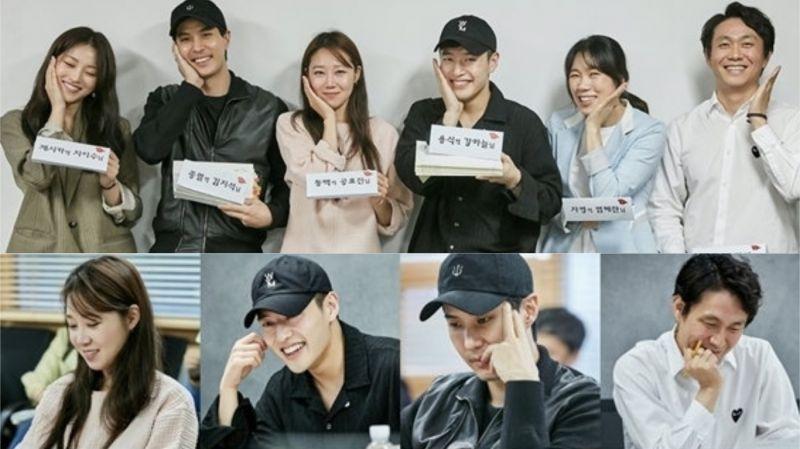 孔曉振、姜河那等主演KBS新劇《山茶花開時》公開劇本閱讀現場!預計下月(9月)首播