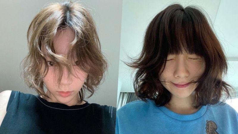 原来太妍的头发也是自来卷!网友共鸣:「简直就是我刚起床的样子」