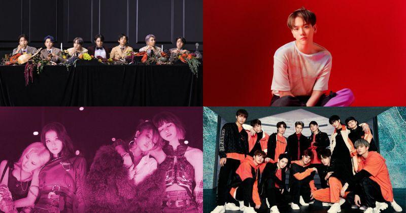 KBS World Radio 年度票选奖:BTS防弹少年团、BLACKPINK、TWICE、Red Velvet 获多个几项 伯贤为榜上唯一个人歌手!