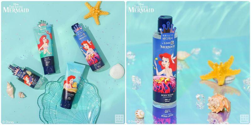 就是喜欢公主系列,大创推出《小美人鱼公主》保养品!