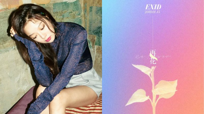 EXID 率智為新企劃〈Re:Flower〉揭開序幕 15 日率先公開新版「夢中」音源!