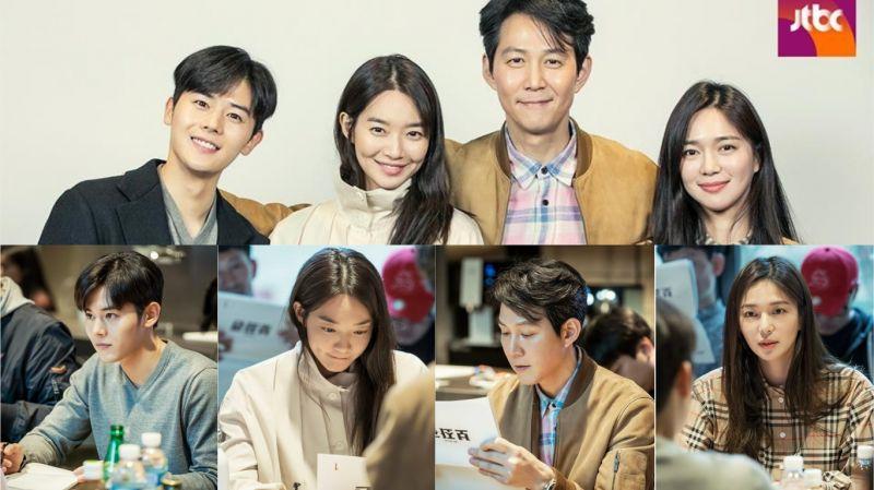 李政宰、新慜娥主演JTBC《輔佐官》公開劇本閱讀現場!未開播便確定製作第2季 引發期待