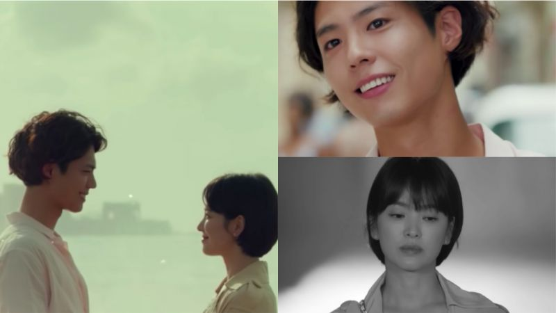 宋慧乔、朴宝剑主演《男朋友》首版预告公开!异国街头的邂逅,画面真的唯美又浪漫!
