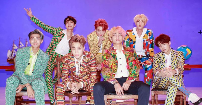 恭喜BTS防弹少年团!第四支破七亿 MV〈IDOL〉今日诞生