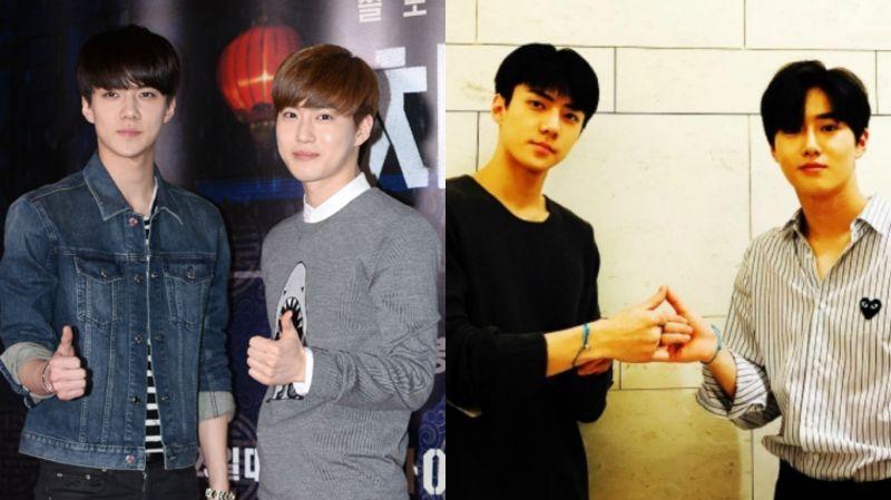 EXO世勋、SUHO在演唱会舞台大展「兄弟情」!但一旁的舞蹈老师显然不太能适应…XD