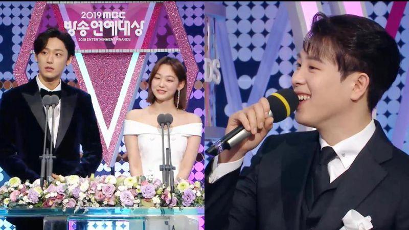 《德鲁纳酒店》团聚【MBC演艺大赏】李到晛问美娜:「P.O跟我~你会选谁?」
