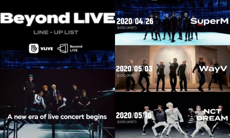 SM推出線上付費演唱會「Beyond LIVE」 26日SuperM首演 個人海報&後續陣容日程公開!