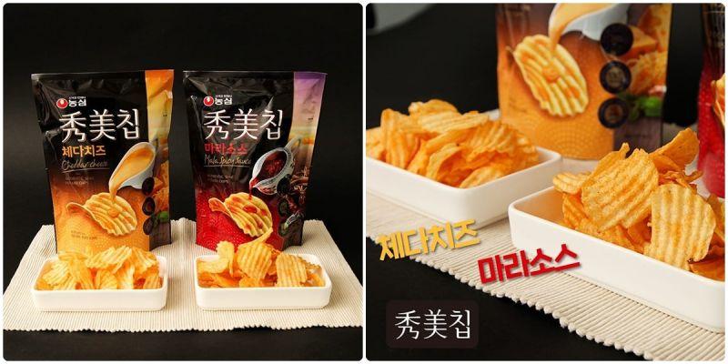 农心秀美洋芋片推出《巧达起司》、《麻辣酱》新口味!