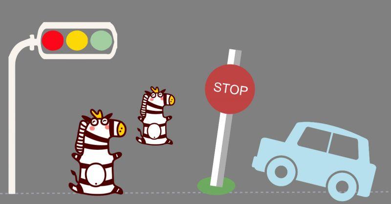 真是要不得!韩国小学生利用「民植法」(一条保护儿童的交通法)来捉弄驾驶者!