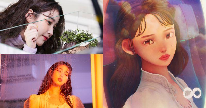 IU × SUGA 人气不坠 〈eight〉蝉联 Gaon Chart 单月双冠王!