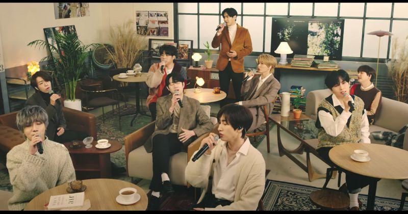 舞曲或抒情歌都好聽!Super Junior 全員翻唱舊歌「不讓愛停下」,閃電公開 LIVE 影片