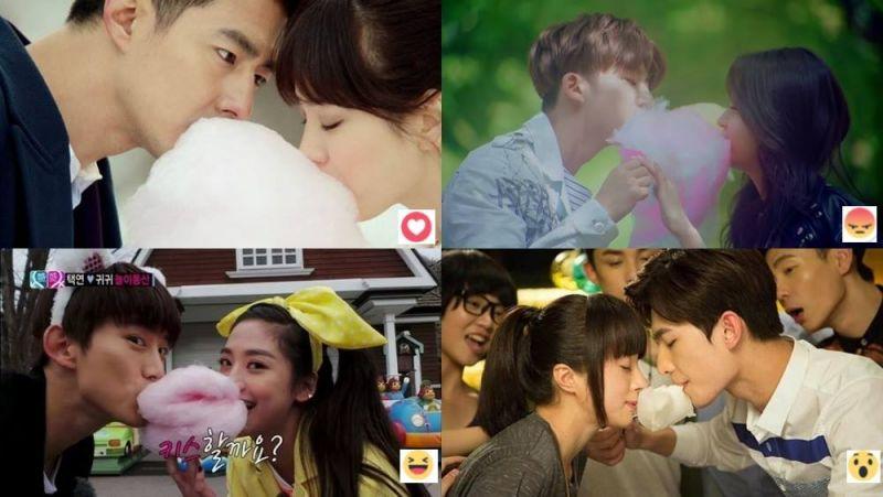 永不退流行的【棉花糖之吻】 你最喜欢哪个版本?