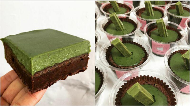 【首爾.甜點】完售甜點「抹茶甘納許布朗尼」創始手作蛋糕店!