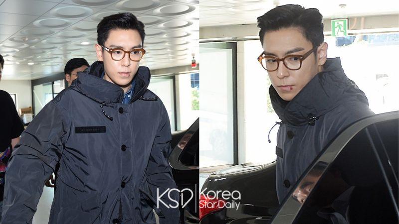 BIGBANG成員T.O.P今日最後一次作為社會服務要員上班!完成替代服役,正式退伍!
