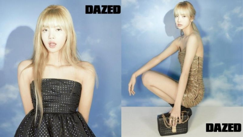 BLACKPINK LISA新畫報以自然的妝容,各種服裝展現神秘氛圍!網友:「真的是Model身材!」