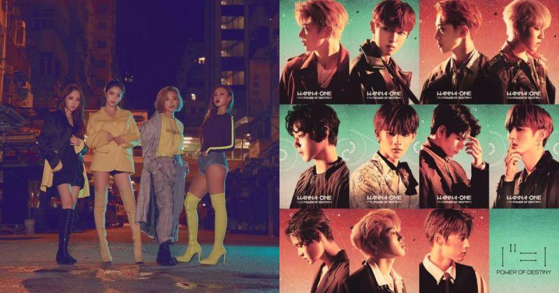 期待爆发!MAMAMOO&Wanna One 在《2018 MAMA》合作重演经典大奖歌曲