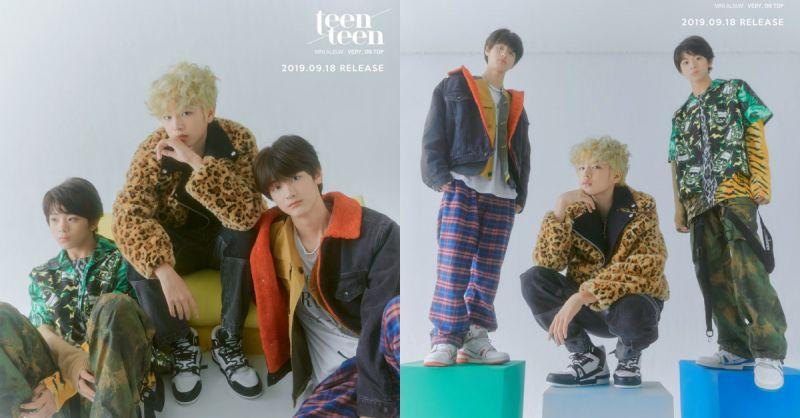Teen Teen迷你一辑《VERY, ON TOP》预告照片