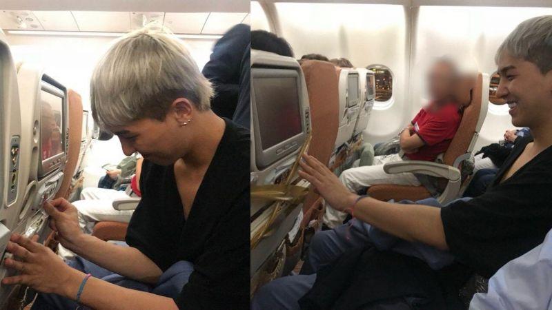 宋旻浩搭飛機也遇到「藝能神」照顧?《花樣青春》拍攝結束,回程竟遇到了這種事!