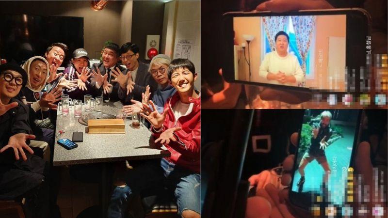 等了一年!《無限挑戰》的成員們再次相聚,「元老成員」鄭亨敦、盧弘喆也發了影片問候!