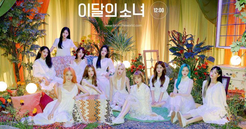 本月少女打入告示牌廣播榜 韓國女團史上第三組!