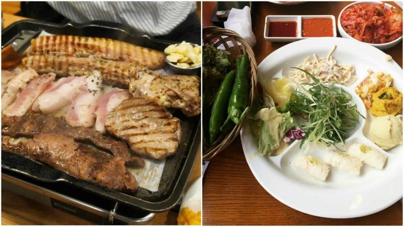 【弘大必吃】烧烤吃到饱、烧酒喝到饱,来韩国就是要大口吃肉大口喝酒啊!