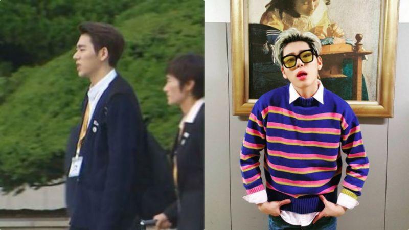 ZICO的北韓Style vs 南韓Style:只是改變了髮色卻連氣質都變了XD