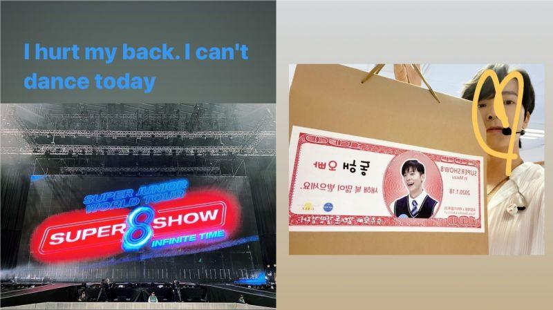 【有片】强忍著伤痛…坚持在演唱会上跳舞的SJ东海!最后忍受不了、蹲在舞台上 现场粉丝心疼哭了 ㅠㅠ