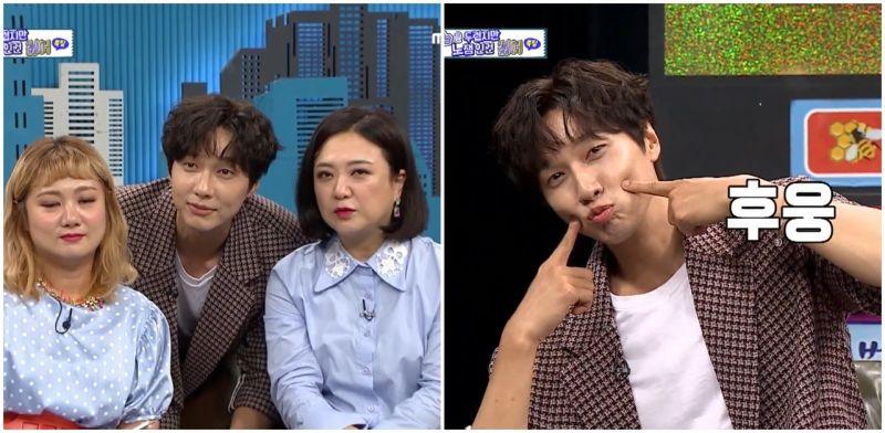 [有片] 《Radio Star》成綜藝訓練所:朴娜勑讓演員智鉉寓成為搞笑綜藝人?
