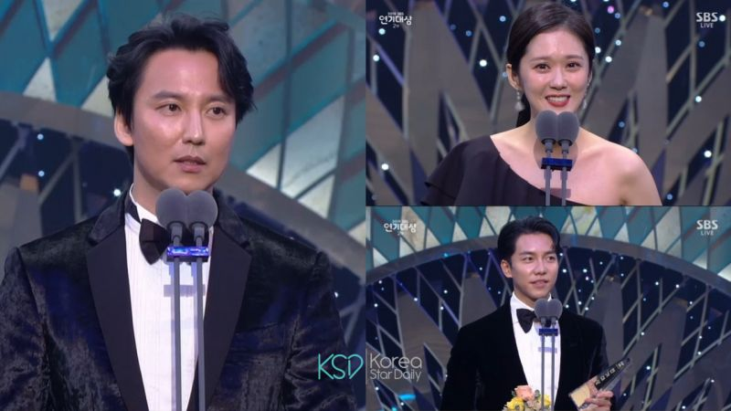 【2019 SBS演技大赏】金南佶《热血祭司》夺下大赏,李升基、裴秀智成为Best Couple