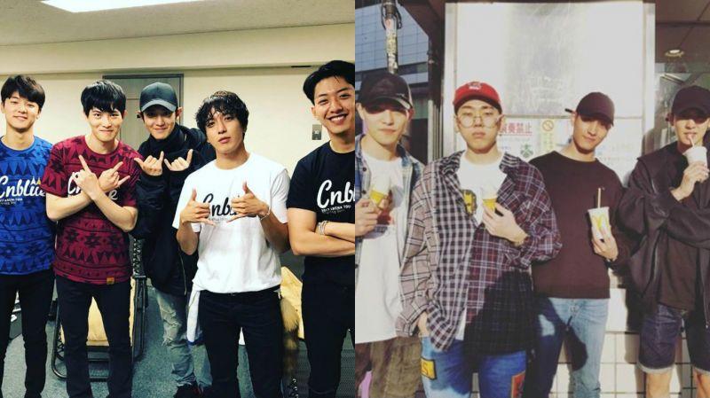 特地從韓國跑到日本!EXO燦烈應援CNBLUE東京演唱會
