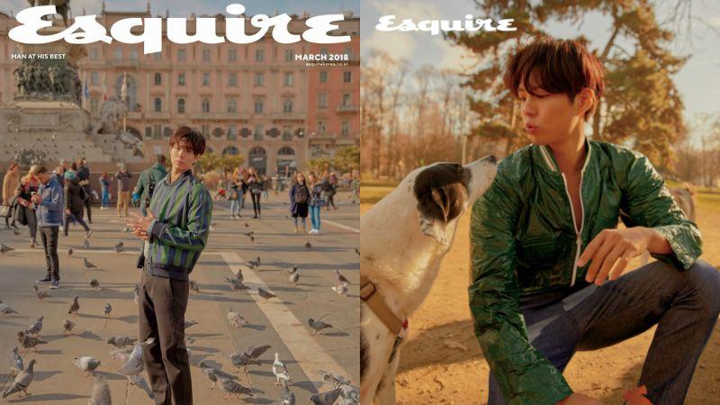 朴寶劍登〈Esquire〉談粉絲與工作盡是感激 「想趕快帶著新作品讓大家看見我的面貌了」!
