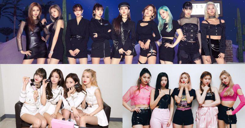 【女团品牌评价】JYP 代表女团携手上榜 BLACKPINK 获亚军