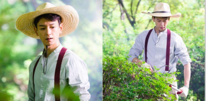 《河伯的新娘2017》林周煥最新劇照!地表最帥農夫現身